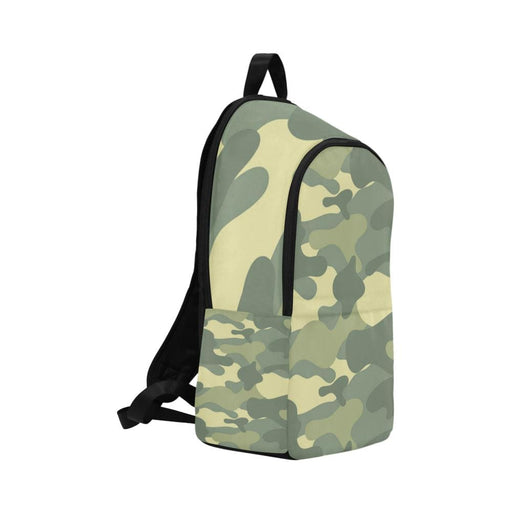 light camo Fabric Backpack - Vizionaryfocus Top Shelf