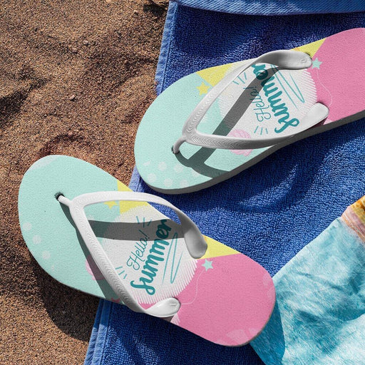 Custom Flip Flops - Vizionaryfocus Top Shelf