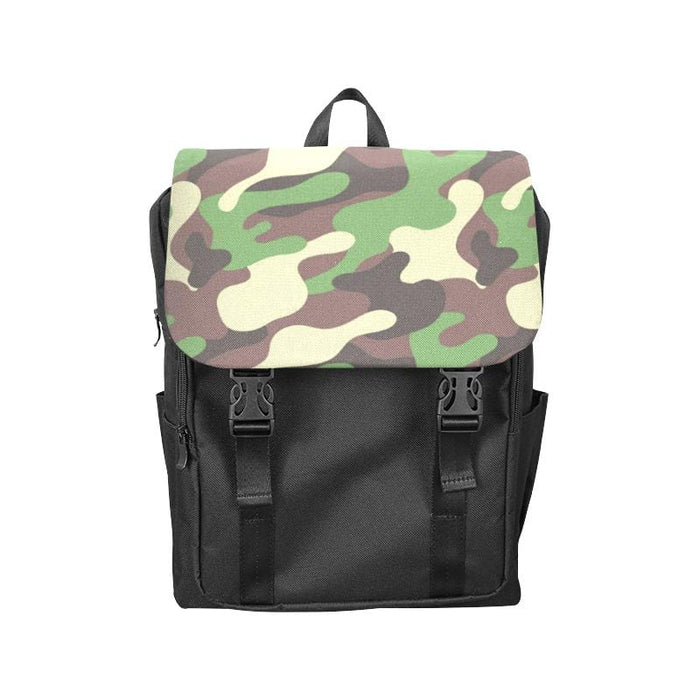 Camo Casual Shoulders Backpack - Vizionaryfocus Top Shelf