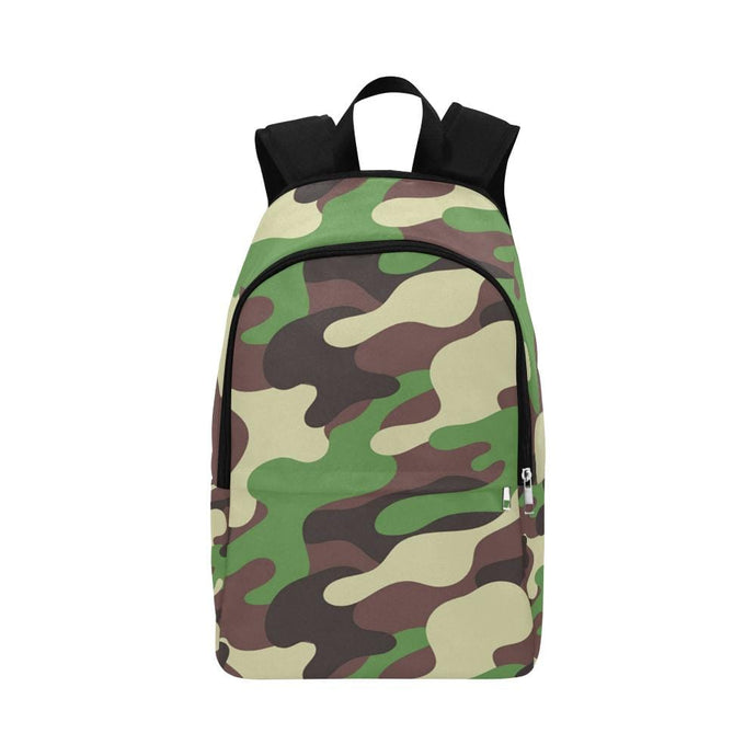 Camo Fabric Backpack - Vizionaryfocus Top Shelf
