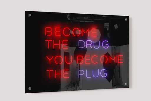 Become The Drug You become The Plug - Vizionaryfocus Top Shelf