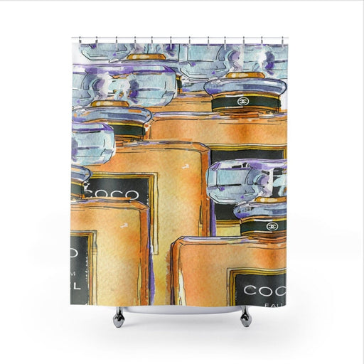 Shower Curtains - Vizionaryfocus Top Shelf