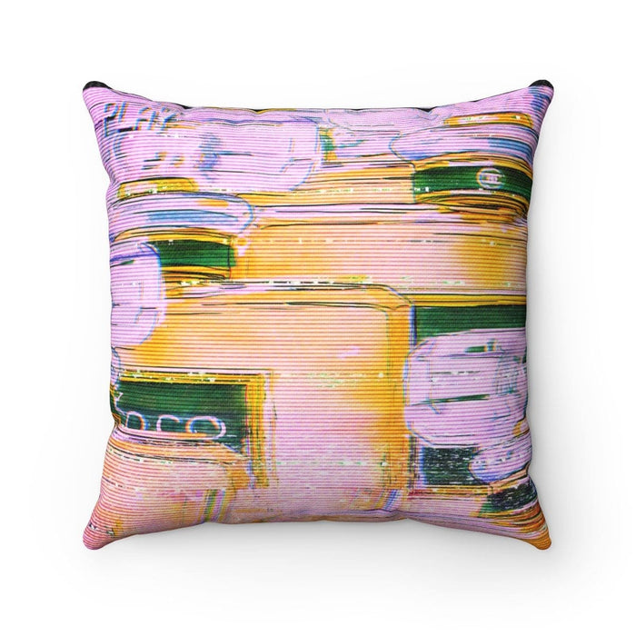 Spun Polyester Square Pillow Case - Vizionaryfocus Top Shelf