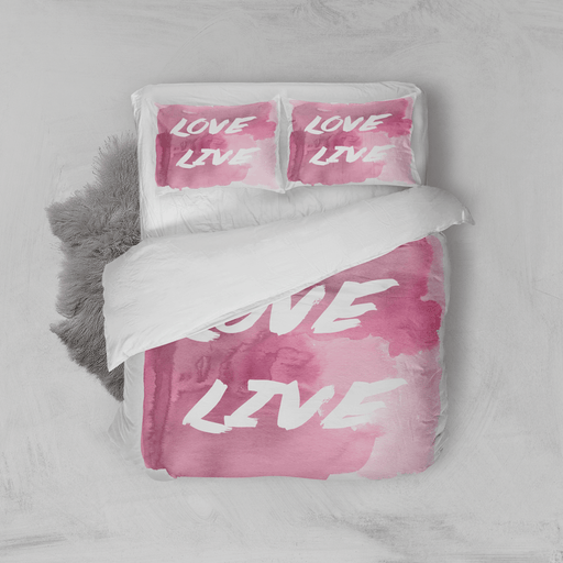 live love duvet - Vizionaryfocus Top Shelf