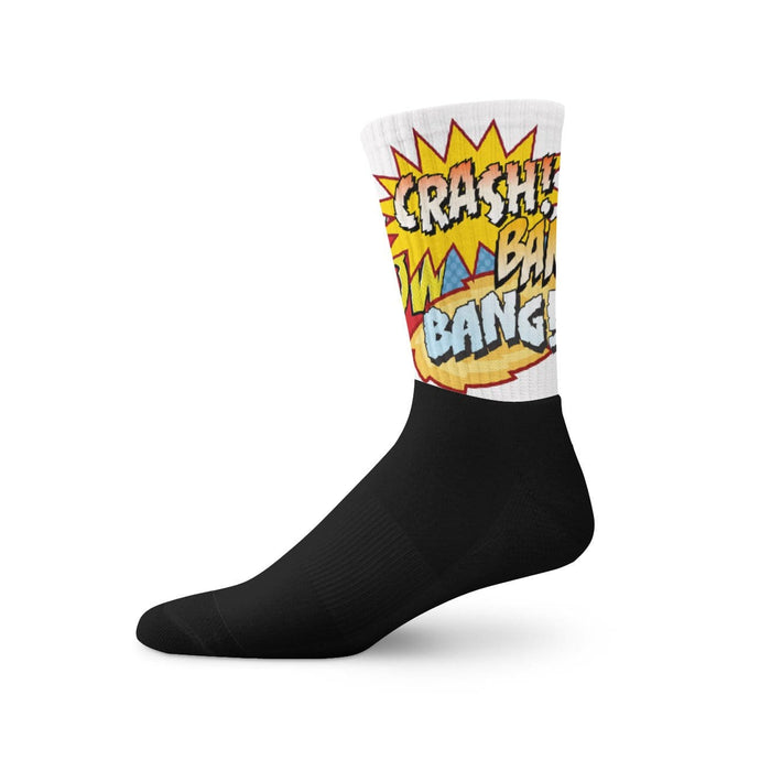 Black foot socks - Vizionaryfocus Top Shelf