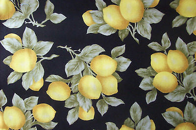 LEMONS on BLACK