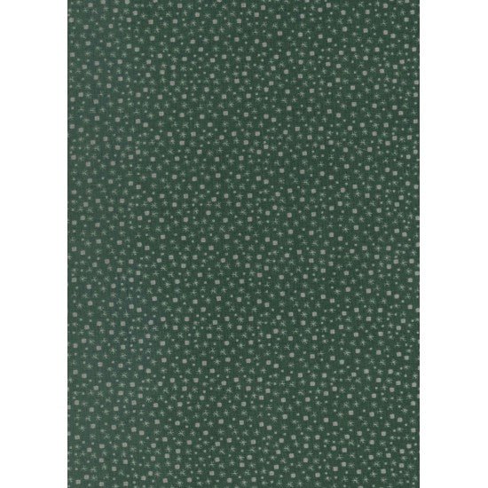 Winter Playground - Snow Scatter- 31912-66 Forest Green