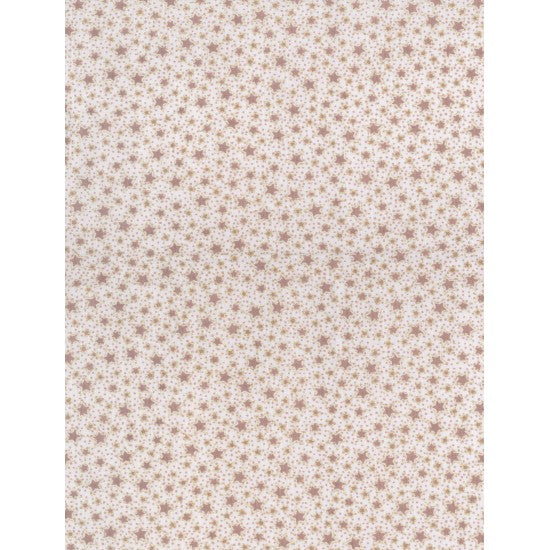 Winter Playground - Stitched Stars - 31910- 10 Cream/Caramel