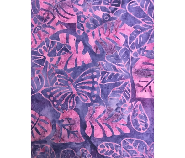 Sew Simple Batik SSHH350-28B Purple