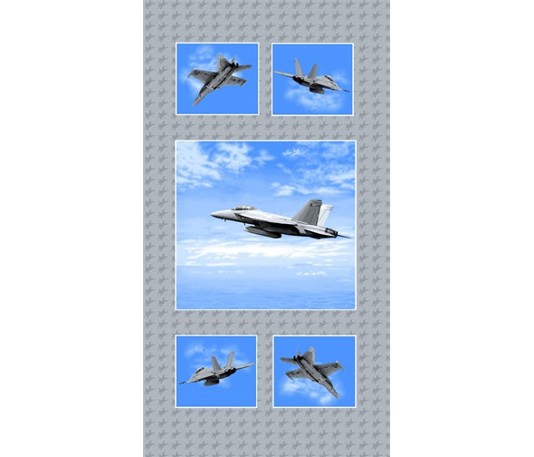 Air Show- Fighter Planes Panel