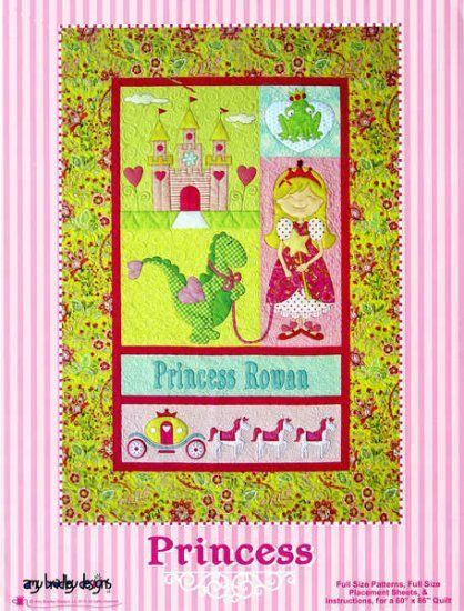 Amy Bradley Patterns - PRINCESS - Quilt and Wallhanging