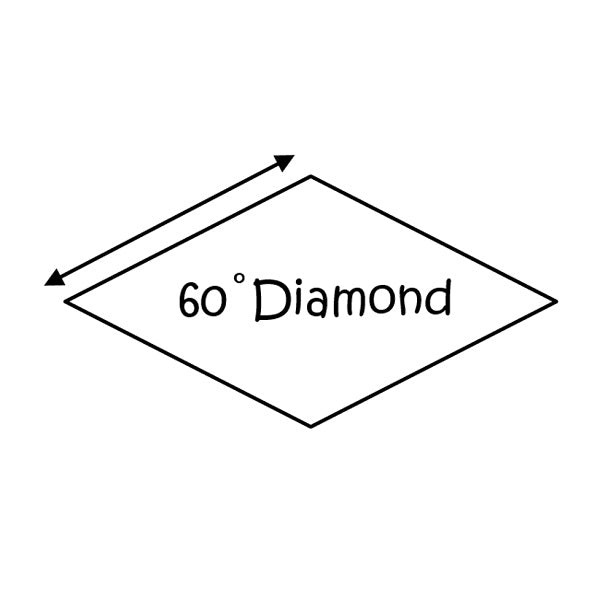 EPP - 60 deg DIAMOND  - 1""