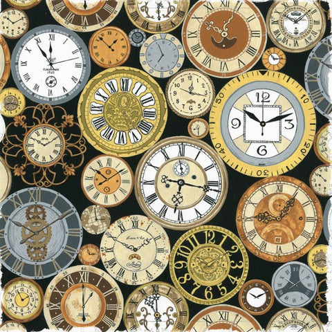 Victorian Vintage  - Clocks - Back in Time