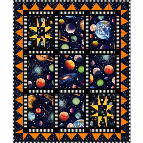 Solar System - Planets - Pattern