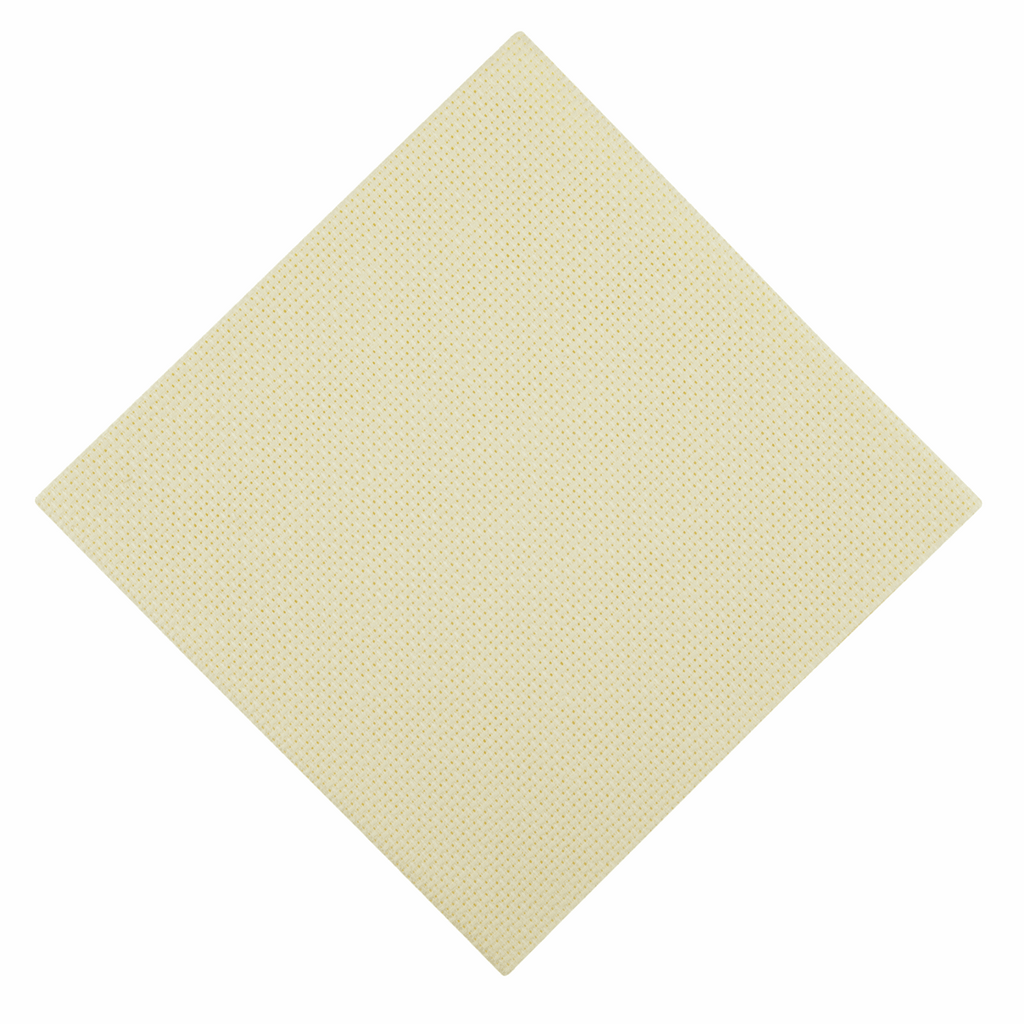 AIDA FABRIC - 18 count - Cream