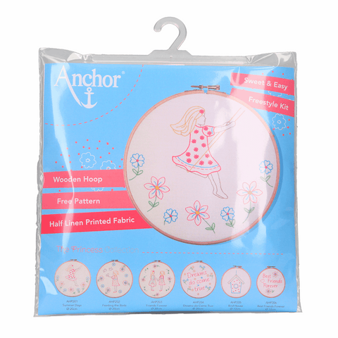 Anchor Embroidery Kit - Summer Days