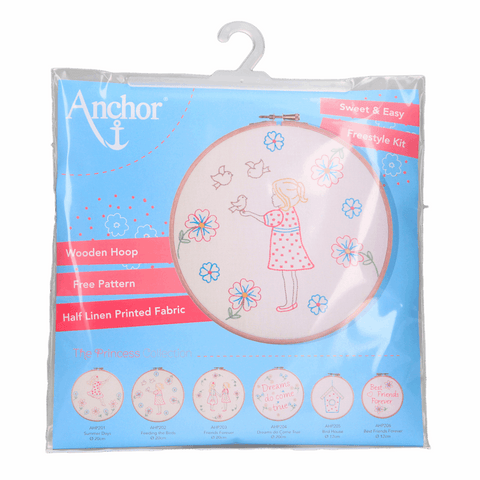 Anchor Embroidery Kit - Feeding the Birds