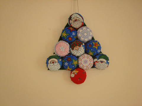 Bottle Top Christmas Tree Pattern