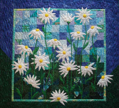 Daisies for Gwennyth Quilt Pattern