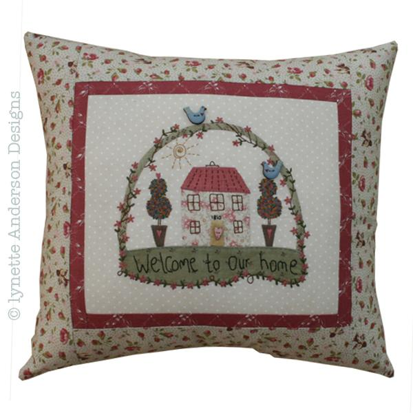 Lynette Anderson  Our Home Pillow pattern