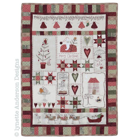 Lynette Anderson  Christmas Fun Wallhanging pattern