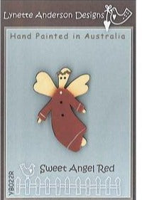 Lynette Anderson's Sweet Red Angel Button pack