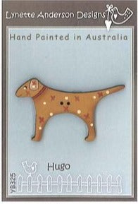 Lynette Anderson's Hugo the Dog Button pack