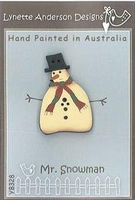 Lynette Anderson  Mr Snowman Button pack