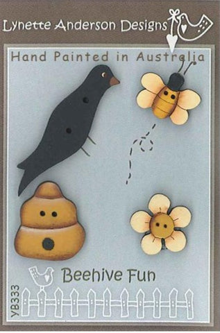 Lynette Anderson's Beehive Fun  Button pack
