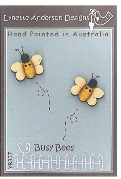 Lynette Anderson's Busy Bees Button Pack