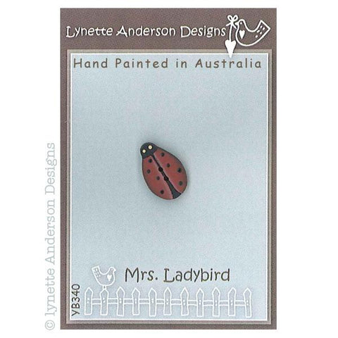 Lynette Anderson  Mrs Ladybird Button pack