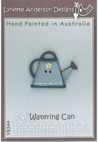 Lynette Anderson's Blue Watering Can Button pack