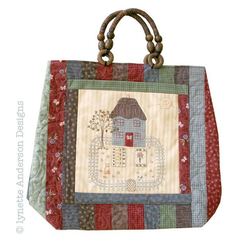 Lynette Anderson - Butterfly Cottage Bag - Pattern
