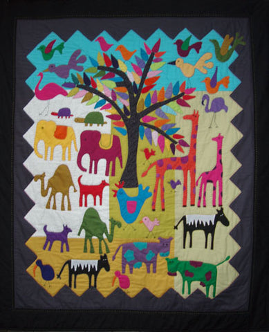 My Zoo Quilt Pattern