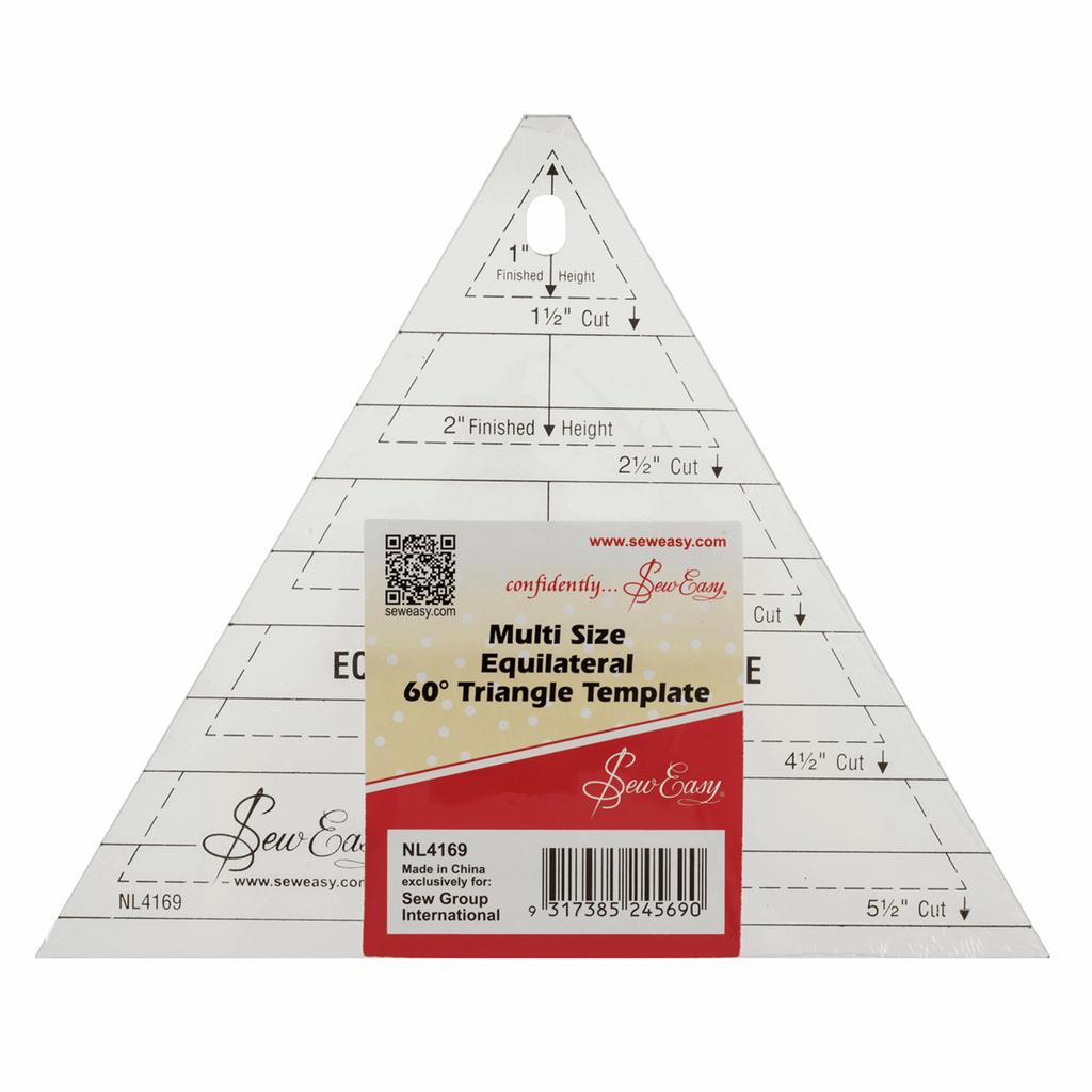 Sew Easy - Multi size Equilateral Triangle Template