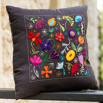 Scattered Flowers Cushion Pattern