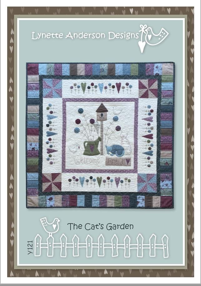 Lynette Anderson - The Cat's Garden - Pattern