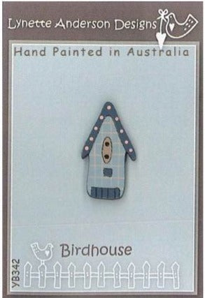 Lynette Anderson's Birdhouse Button pack