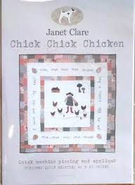 Janet Clare - Chick chick chicken - Quilt pattern