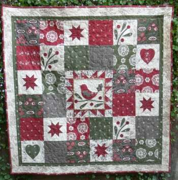 Gail Pan Song of Christmas Quilt Pattern