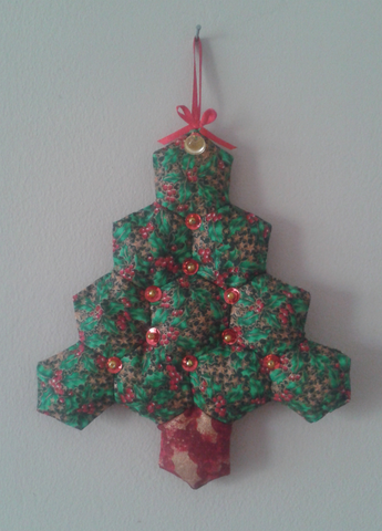 Hexagon Christmas Tree Pattern