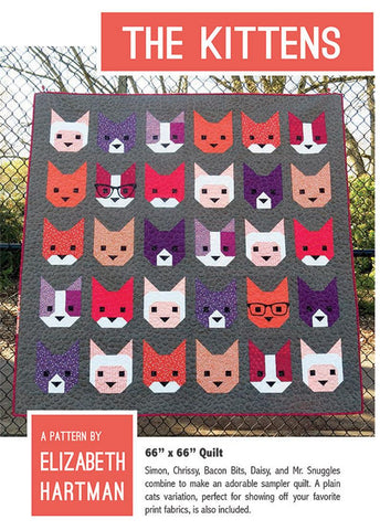 "Elizabeth Hartman ""The Kittens "" Pattern"