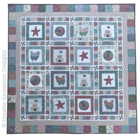 Lynette Anderson - Beachtime Fun Quilt - Pattern