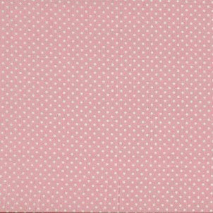 White spots on pink