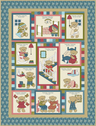 Kids Quilts - Teddy Bear