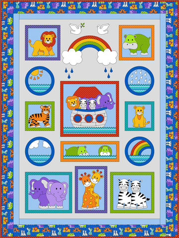 Kids Quilts - Noah's Ark