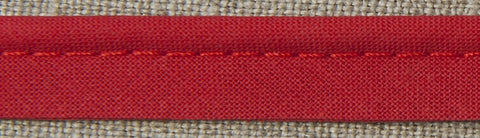 Insertion Piping Cord - 10mm - 100% cotton - Red