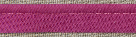 Insertion Piping Cord - 10mm - 100% cotton - Fuchsia