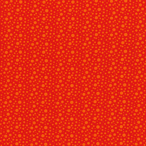 Skin dotties - fire engine red