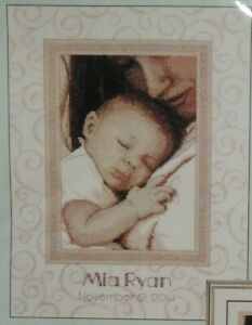 Dimensions- Counted Cross Stitch Kit - Peaceful Baby Birth Record